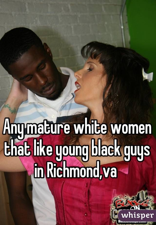 Mature White Women And Black Men
