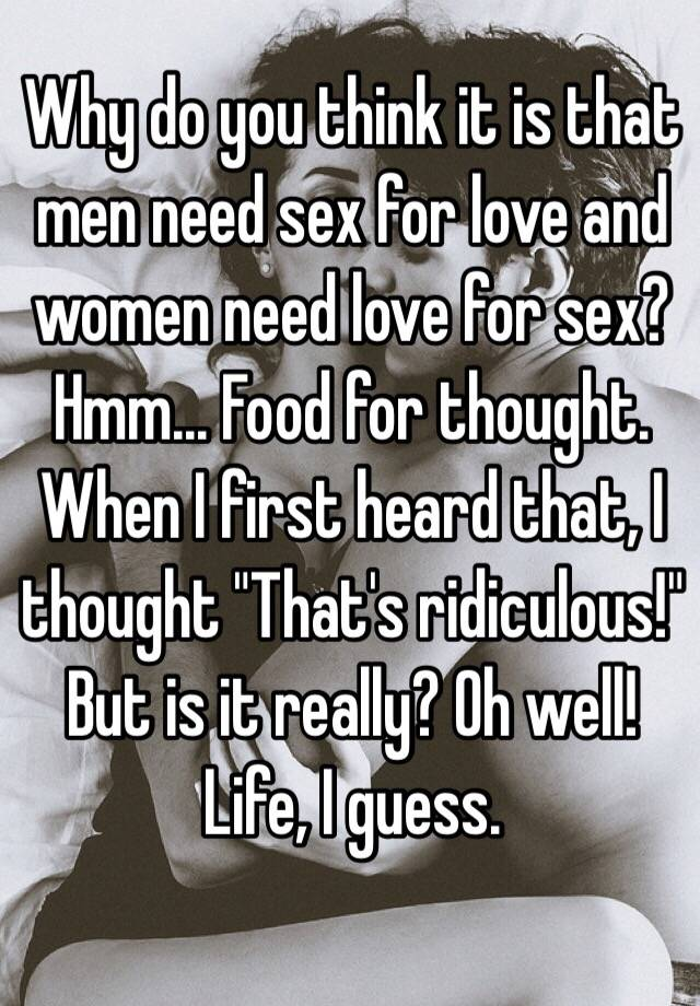 Why men need women in their lives