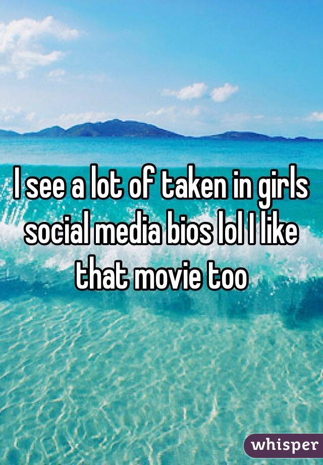 Social Media Bios in Girls Social Media Bios