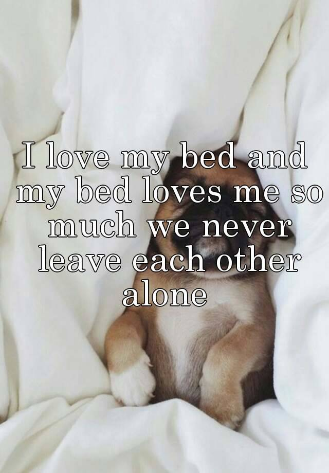 I Love My Bed 05184aa1e0c48a61962bbc7ddc4ee993117c2?v=3