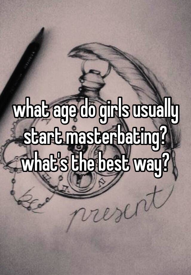 The best age to start dating