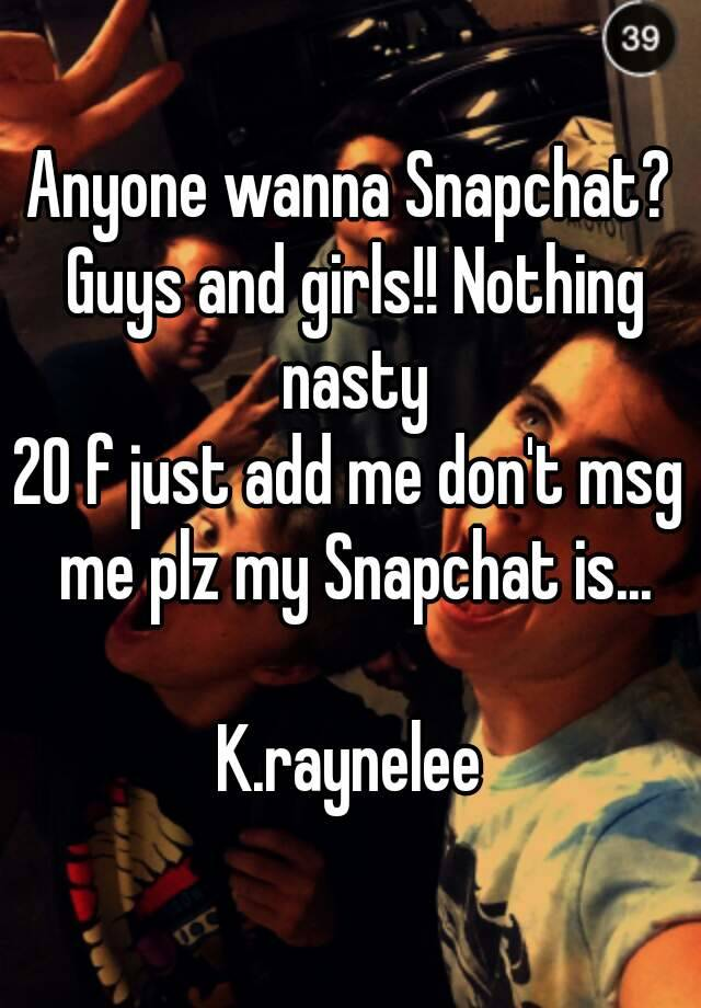 Nasty snapchat girls