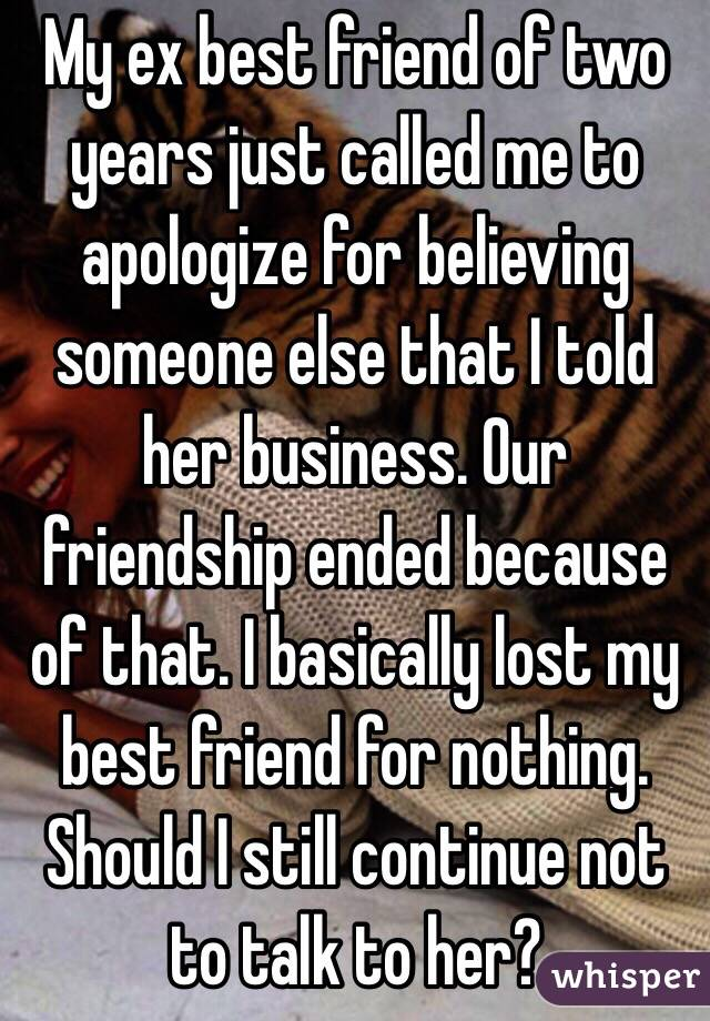 How Should I Apologize to My Friend?