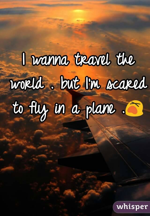 Im scared to fly