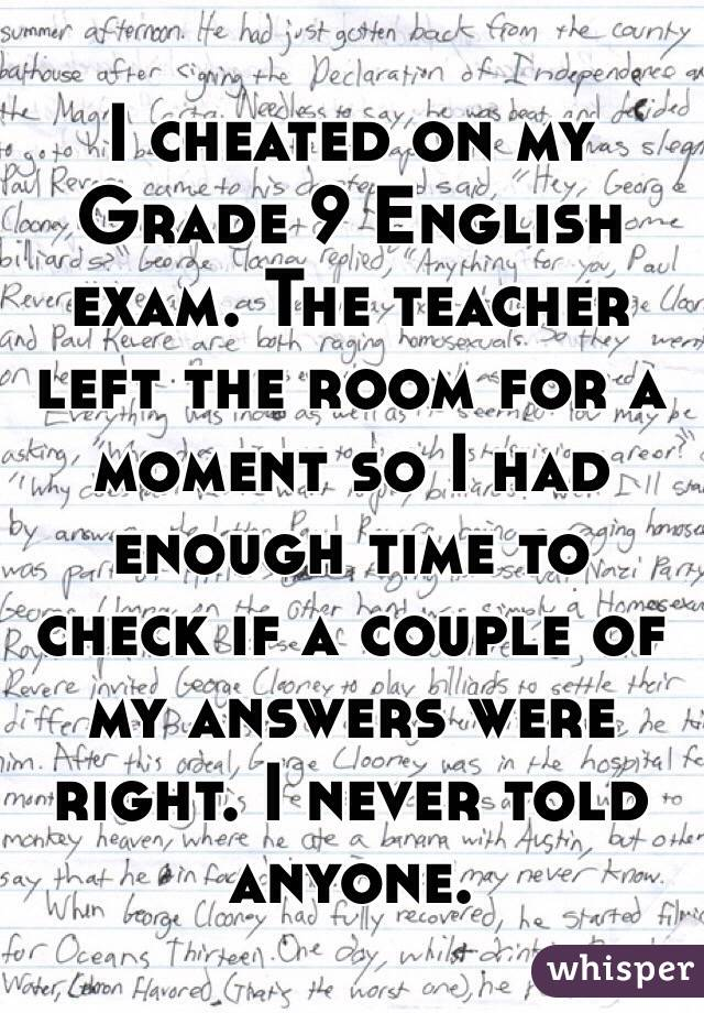 What are grade 9 exams like?
