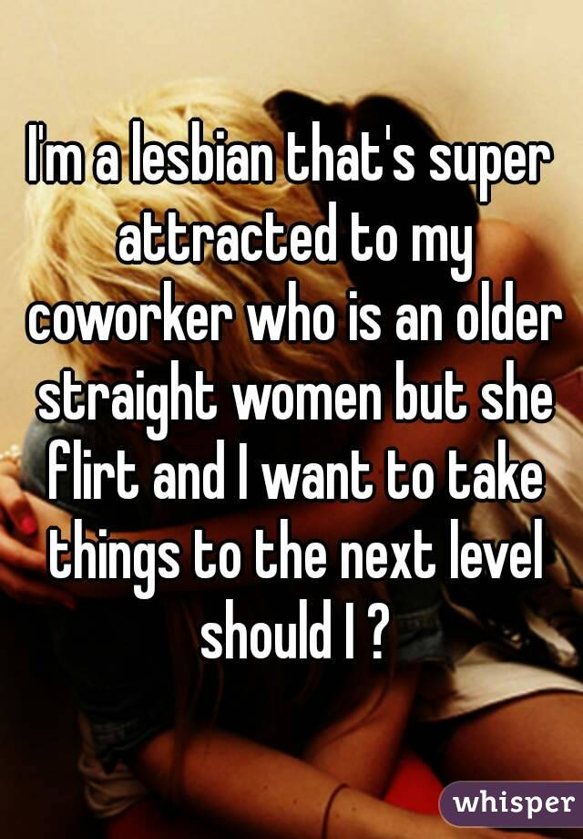 attracted to coworker