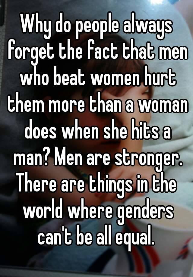Why are men stronger than women evolution