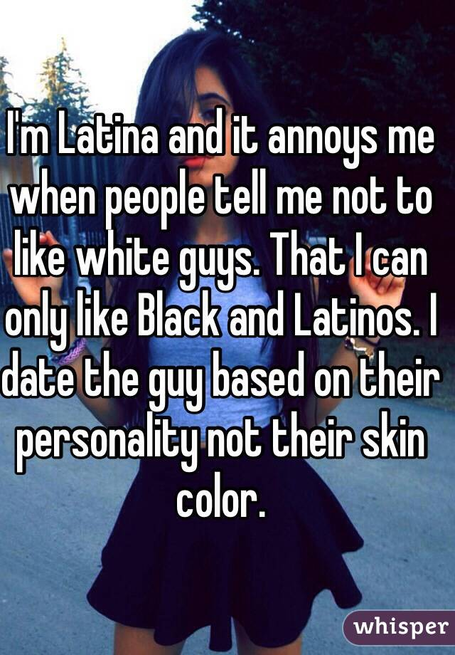 im mexican dating black guy