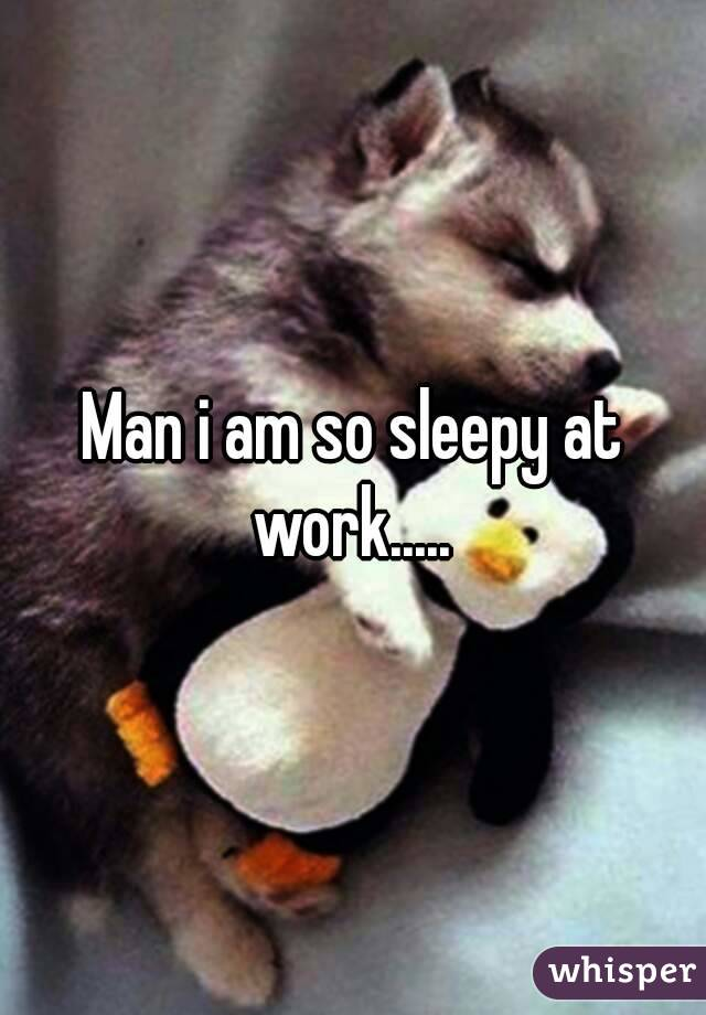 Funny Pictures - HOW CAN THEY EXPECT ME TO WORK WHEN I AM SO SLEEPY