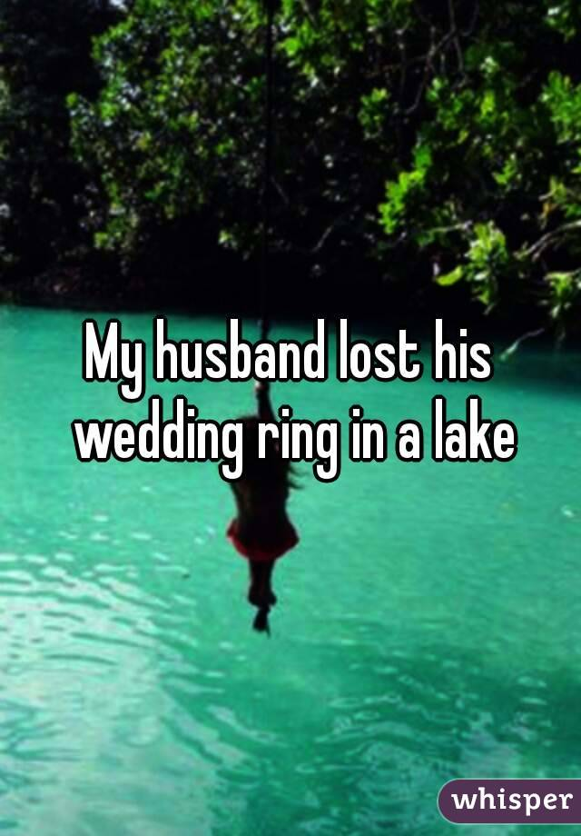 Wedding Rings Pictures Husband Lost Wedding Ring