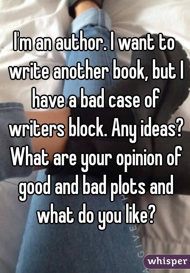 Writers Block? Any ideas?