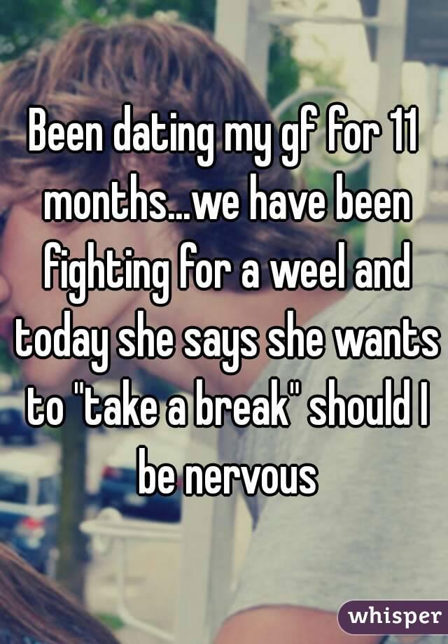 Taking a long break from dating