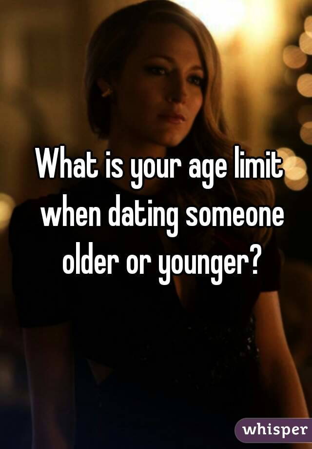 Would you date someone younger than you?