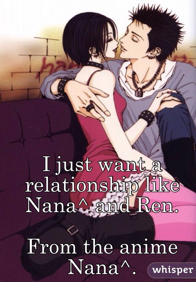 nana and ren relationship