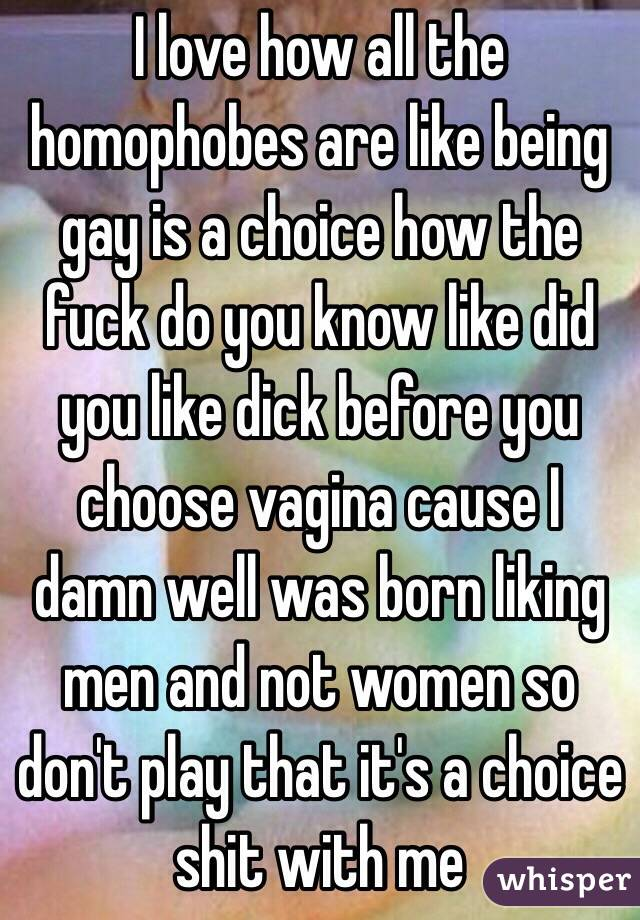 information about being born gay