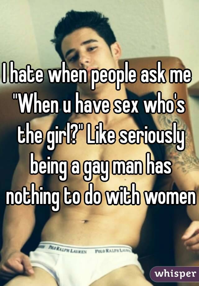 I want to have sex with girls