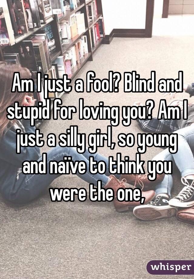 Am I just stupid????????