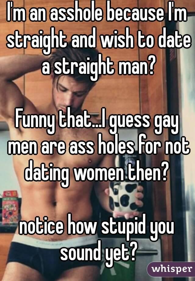 guy im dating seems gay