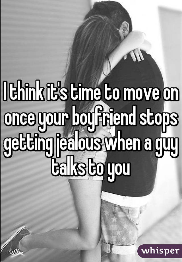 how to stop getting jealous of your boyfriend