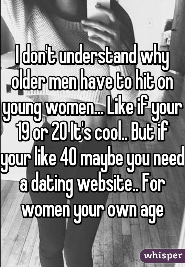 Why give age on dating sites