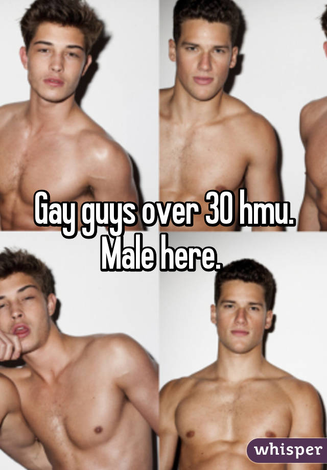 Gay over 30