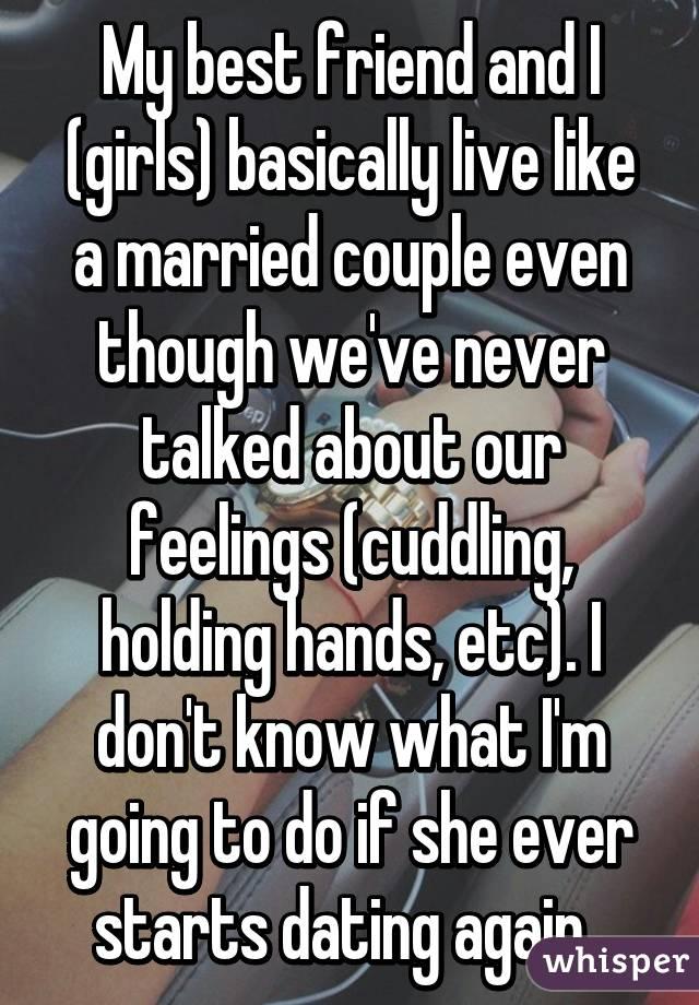 best friend is dating a married man