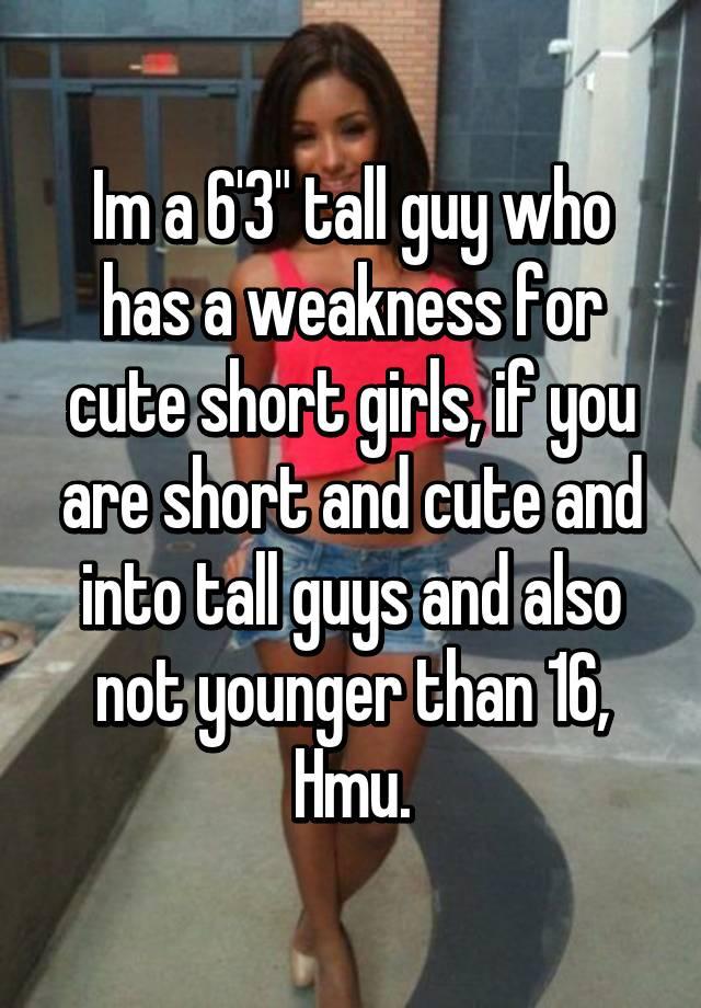 Hookup a girl shorter than you