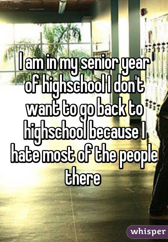 Should I go back to public high school for senior year?