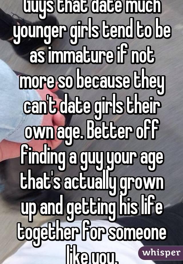 dating guys same age