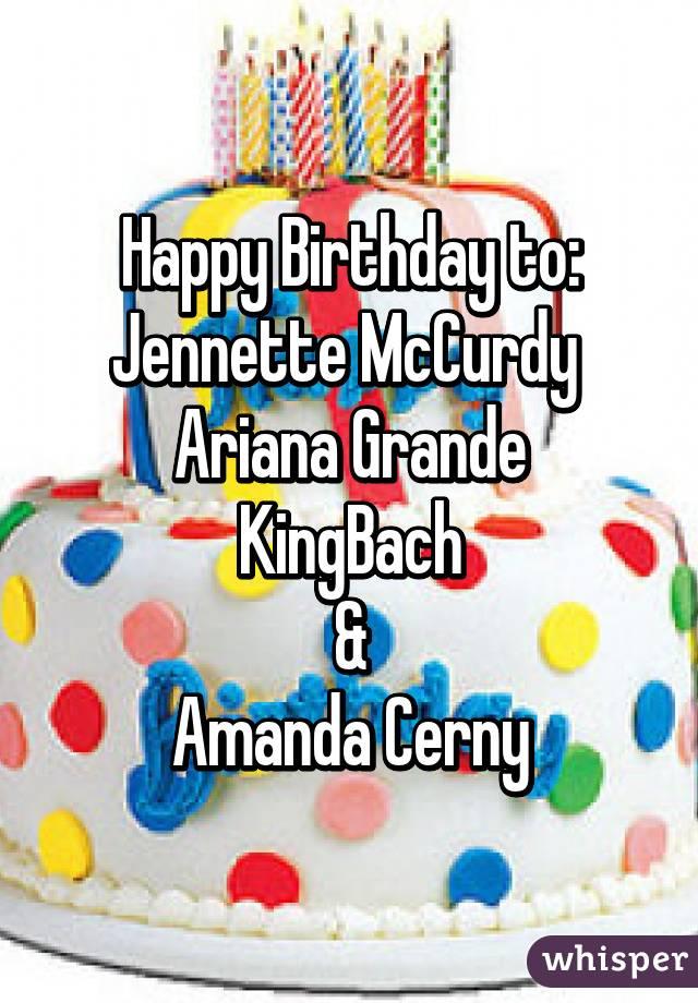 Amanda Cerny Birthday