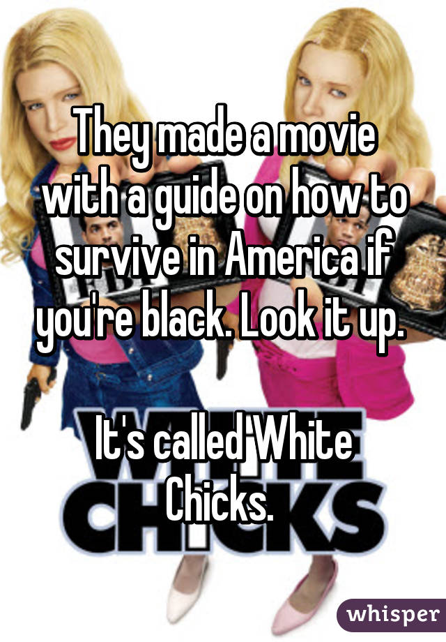 They made a movie with a guide on how to survive in America if you ...