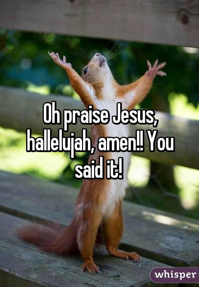 Image result for AMEN praise Jesus