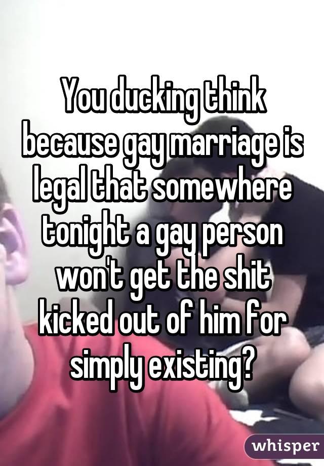 Gay ducking