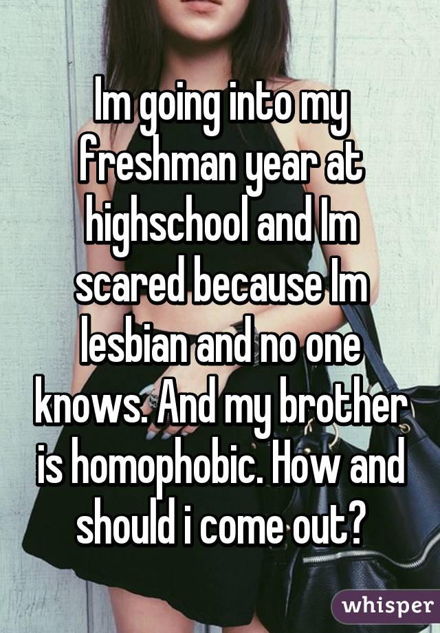 Freshman going into Highschool?