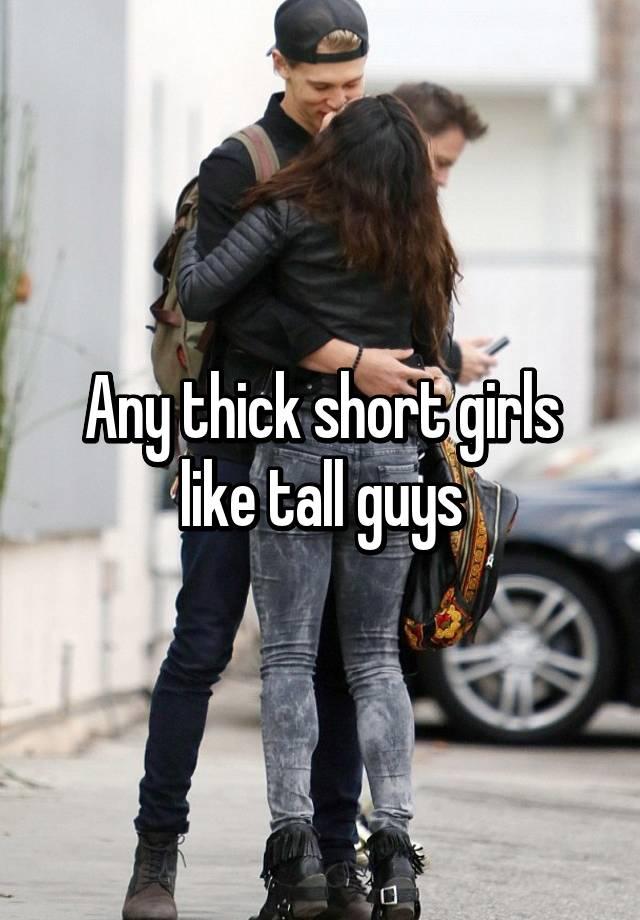 Girls who like big men