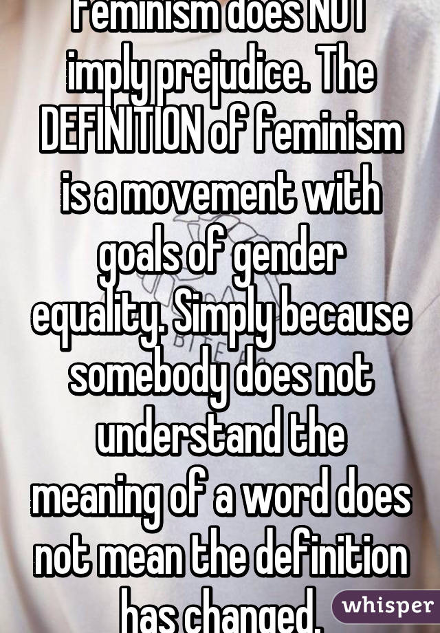 an understanding on the word feminism The atlantic recently sometimes in the word 'feminism salma and carrie and kelly and shailene and marion and gaga are understanding feminism by.