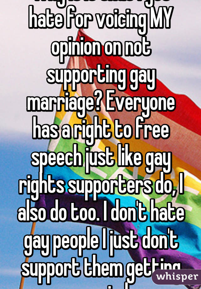 speeches on gay marriage
