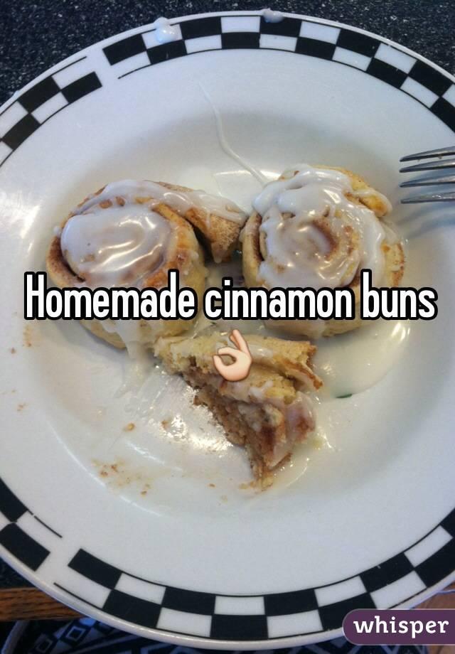 Homemade cinnamon buns 👌