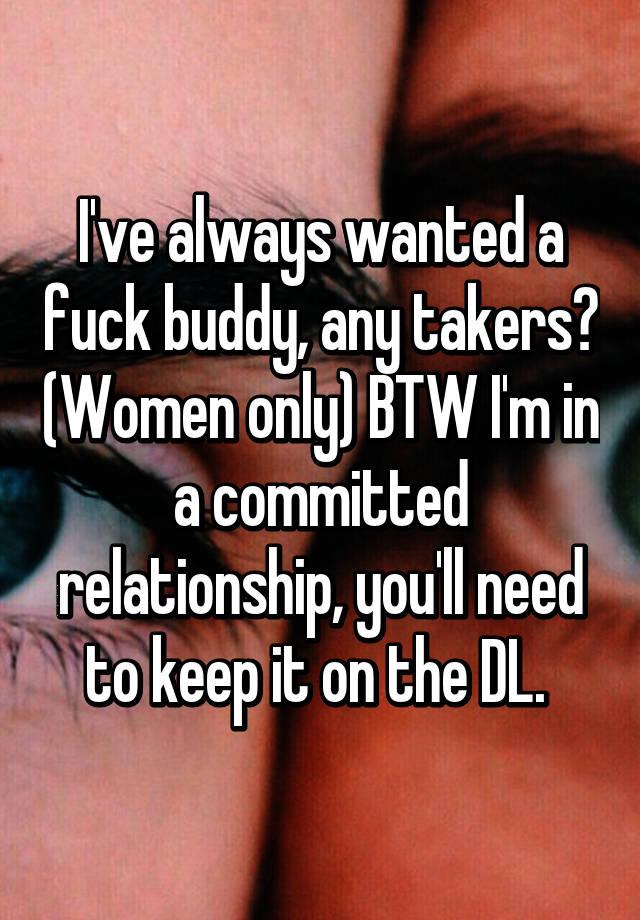 Buddy Need a sex