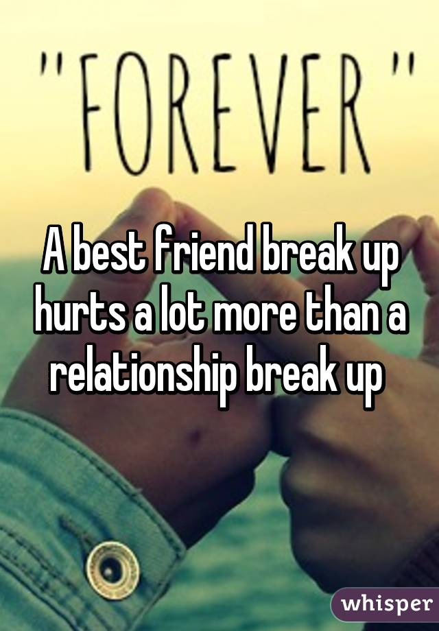 dating my best friend break up I got broken up with by my three best friends, all around a similar time it was the three of them against me how to break up—with a friend.
