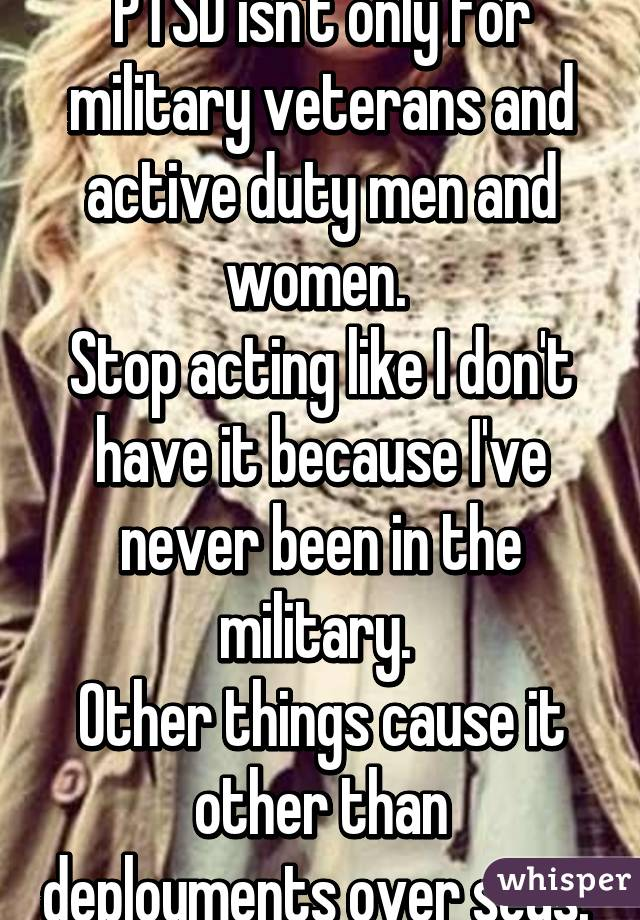 Dating a military man with ptsd