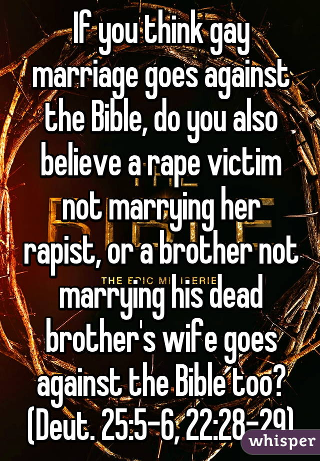Deuteronomy 22:28-29 on rape and marriage?
