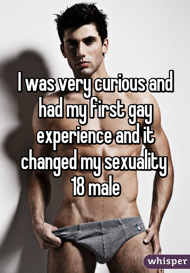 male first gay experience