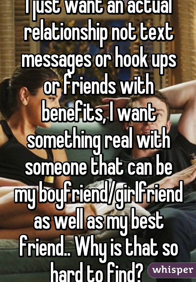 I want to hook up with my best friend
