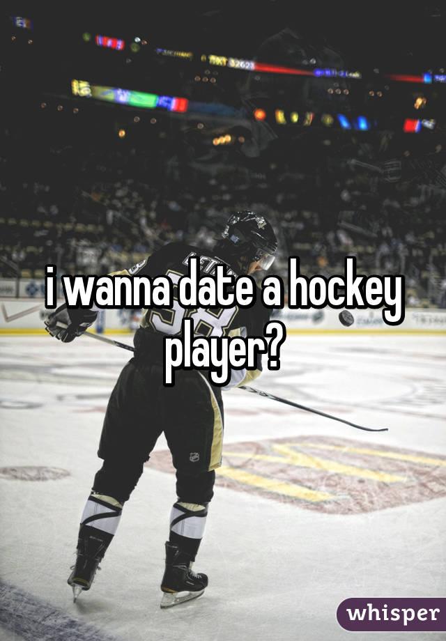 i wanna date a hockey player😍
