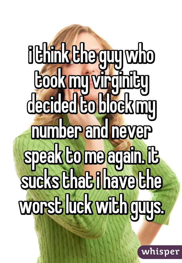 Losing virginity for girls