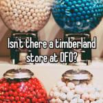timberland dfo