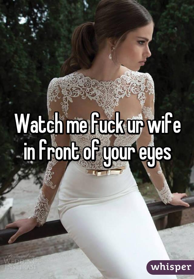 watch me fuck