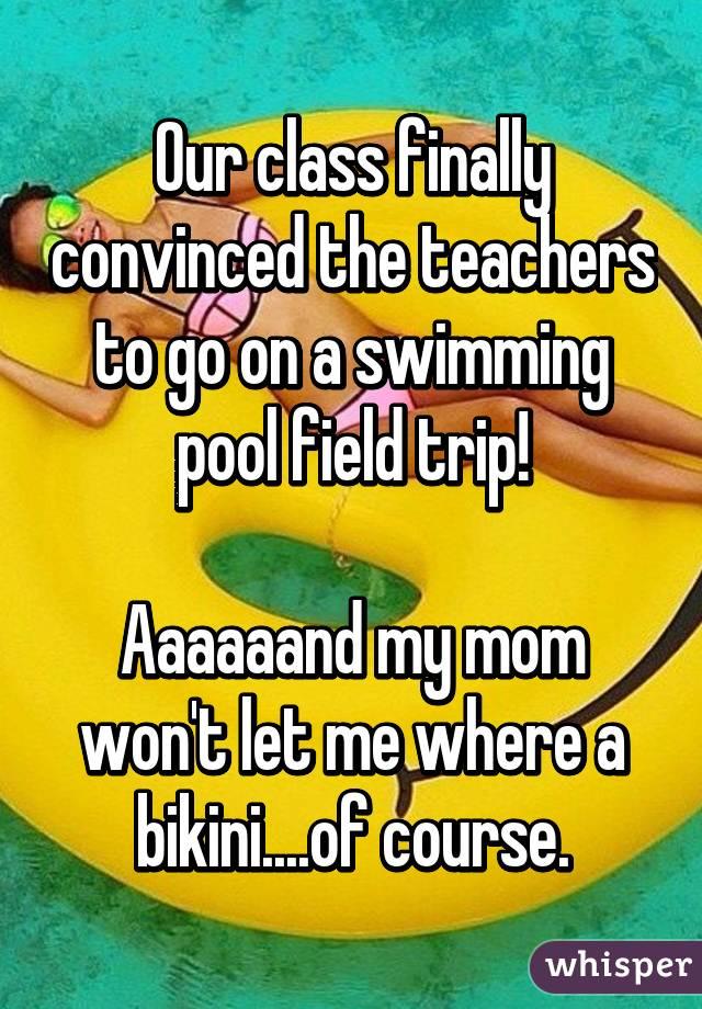 Our class finally convinced the teachers to go on a ...