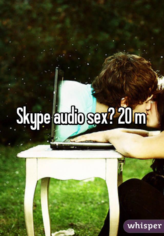 Секс через скайп аудио 7 фотография